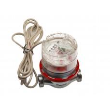 """Счетчик горячей воды ETW-I-N-AM 90°C, DN 15 ,Qn 1,5 L-80 mm, G3/4""""B c импульсным датчиком"""
