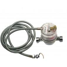 """Счетчик горячей воды ETW-I-N-AM 90°C, DN 15 ,Qn 1,5 L-110 mm, G3/4""""B с  металлоруковом"""
