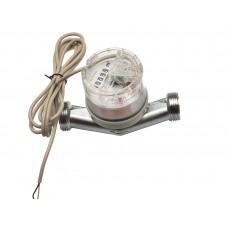 """Счетчик горячей воды ETW-I-N-AM 90°C, DN 20 ,Qn 2,5 L-130 mm, G1""""B с импульсным датчиком"""