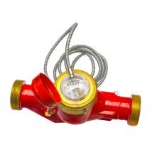 Счетчик горячей воды MTW-I 90°С, Dn 50 , Qn15  L 300 mm с металлоруковом